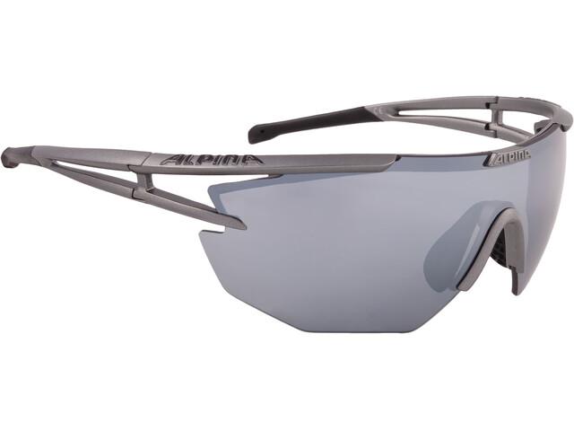 Alpina Eye-5 Shield CM+ Glasses titan matt-black